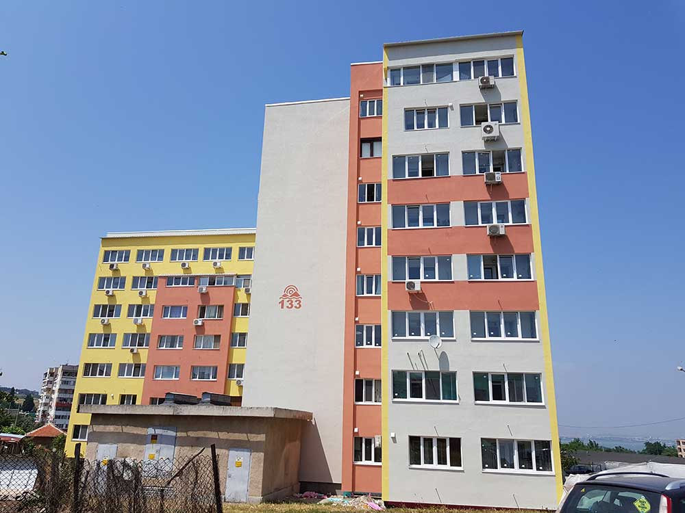 "Residential building Burgas, residential district ""Meden rudnik"" 5"